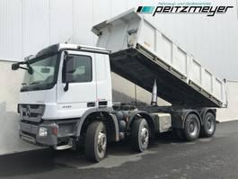 kipper vrachtwagen > 7.5 t Mercedes-Benz Actros 4141 06.2022 K 8x4 Carnehl 14 m³ Dreiseiten, TÜV bis 06.2022 2010