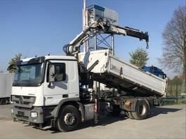 kipper vrachtwagen > 7.5 t Mercedes-Benz Actros 1841 01.2022 LK Atlas Ladekran 125.2 A 2, TÜV 01.2022 2011