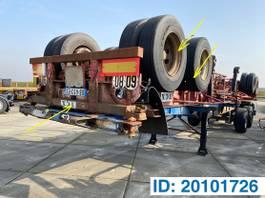 container chassis oplegger Fruehauf Skelet 20ft 1977