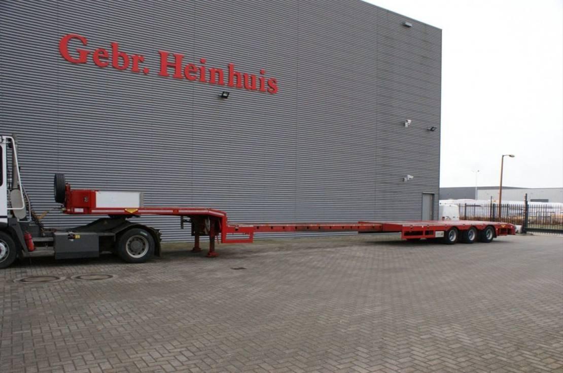 semi dieplader oplegger Broshuis 3 ASD-18-30/1 6.4 M Extand! 2017