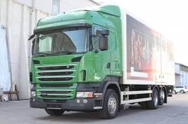 bakwagen vrachtwagen Scania R480 E5 Retarder LBW 6x2 Lenkachse 2010