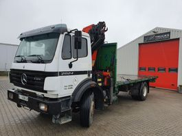 containersysteem vrachtwagen Mercedes-Benz 2024 Manual / Steelsuspention  + PK16000 1998