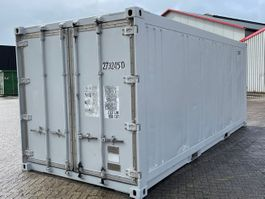 conteneur d'expédition isolé Vernooy 20ft geisoleerde zeecontainer Z273245