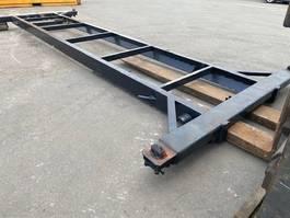conteneur d'expédition flat rack Vernooy Gebruikte 20ft kabelframe Gv0280