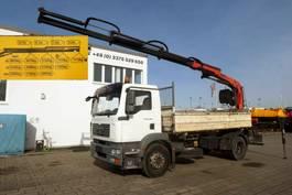 kipper vrachtwagen > 7.5 t MAN TGM 18 4x2 2-Achs Kipper Heckkran PK 120013 2007