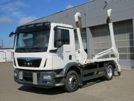 containersysteem vrachtwagen MAN TGM 15 4x2 BL Absetzkipper Meiller, Funk 2014