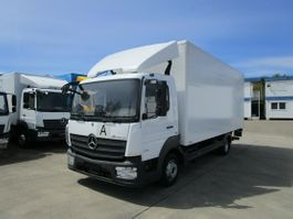 bakwagen vrachtwagen Mercedes-Benz Atego 816 IV Koffer 6,10 m LBW MBB 1 to.*AHK 2017