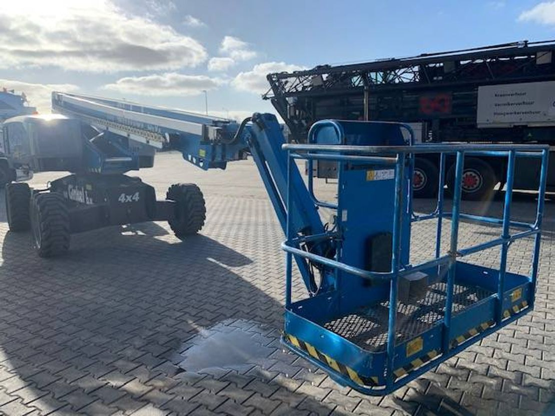 telescoophoogwerker wiel Genie S 65 2017