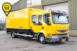 bakwagen vrachtwagen Renault Midlum 220 12- DXI .CREWCAB 2007