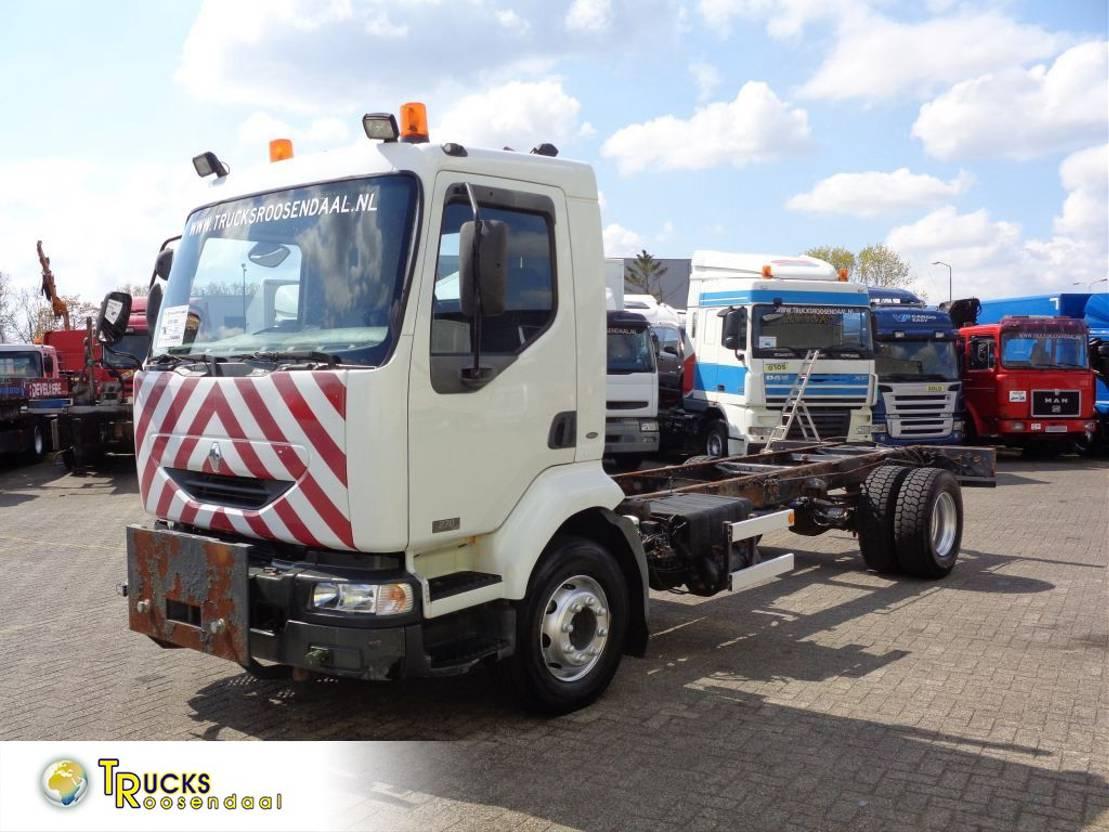 chassis cabine vrachtwagen Renault Midlum 270 DXI + Manual 2003