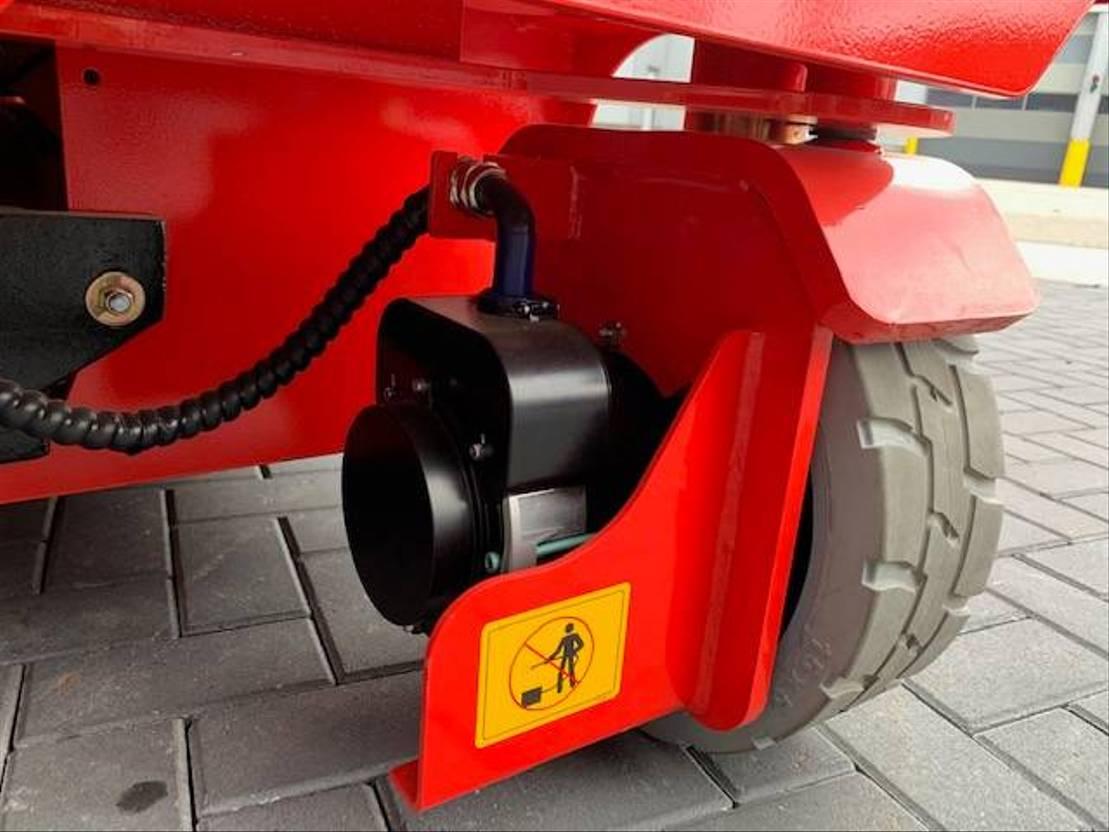 schaarhoogwerker wiel LGMG AS1012E 2021