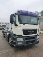 chassis cabine vrachtwagen MAN TGS 26 FLL 6X2 ADR Fgst GAS Intarder 2009