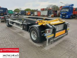 container chassis aanhanger Huffermann 2-achs Abrollanhänger / HSA 20.70 LS 2019