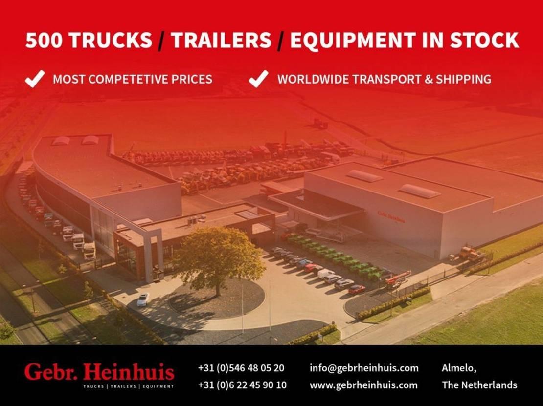 driezijdige kipper vrachtwagen Scania G450 4x2 Feitzinger 3 seitenkipper AHK Euro 6! 2016