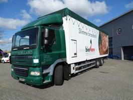 bakwagen vrachtwagen DAF CF 85 / DAYCABIN / 6X2 / CLOSED BOX / WALKING FLOOR / 2006 2006