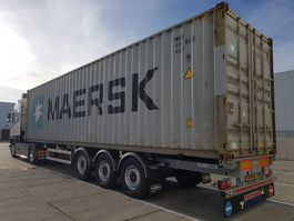 container chassis oplegger Van Hool 3-ASSIGE containerchassis Backslider 2020
