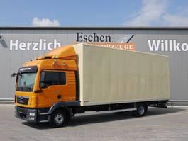 bakwagen vrachtwagen MAN TGL 12 4x2, Euro 6, Bl/Lu