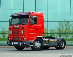 standaard trekker Scania R143 450 EURO 2 MANUAL GEARBOX RETARDER AIRCONDITIONING 1996
