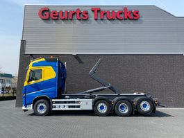 containersysteem vrachtwagen Volvo FH 8X2 TRIDEM + AJK HAAKARMSYSTEEM/ABROLLKIPPER/HOOKLIFT 2018