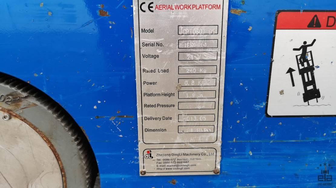 overige hoogwerker Diversen Dingli KCPT0607DC 2013
