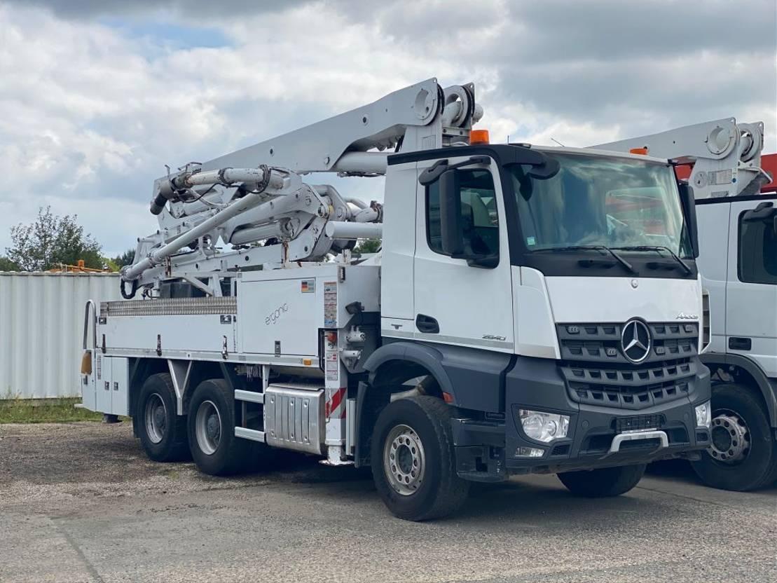 betonpomp vrachtwagen Mercedes-Benz 2640 Putzmeister 24m - BSF24.4-11 H 2016