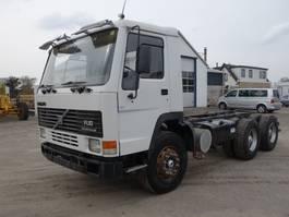chassis cabine vrachtwagen Volvo FL10 6X4 1990