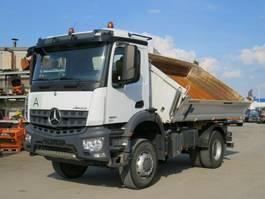 kipper vrachtwagen > 7.5 t Mercedes-Benz Arocs 1830 AK 2-Achs Allradkipper Meiller 2018