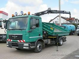 kipper bedrijfswagen MAN -L 8.180 BB +Hiab XS 055 Kran 2012
