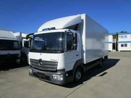 bakwagen vrachtwagen Mercedes-Benz Atego 816 IV Koffer 6,10 m LBW MBB 1 to. 2017