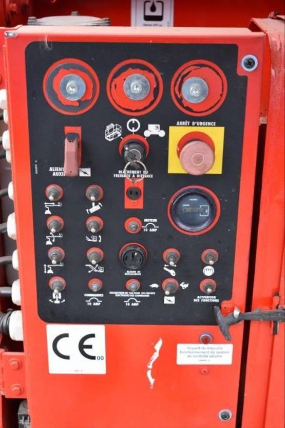 knikarmhoogwerker wiel Genie Z34/22-BE 1999