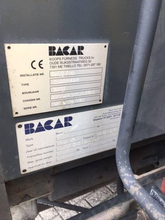 open laadbak bedrijfswagen Iveco Daily 65C15  3-seiten Scattolini kipper  + Palfinger PK3400 Krane 2010