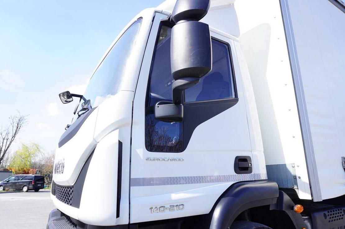 schuifzeil vrachtwagen Iveco Eurocagro 140E21 , E6 , 4x2 , Curtain 18 EPAL , tail lift , heig 2018