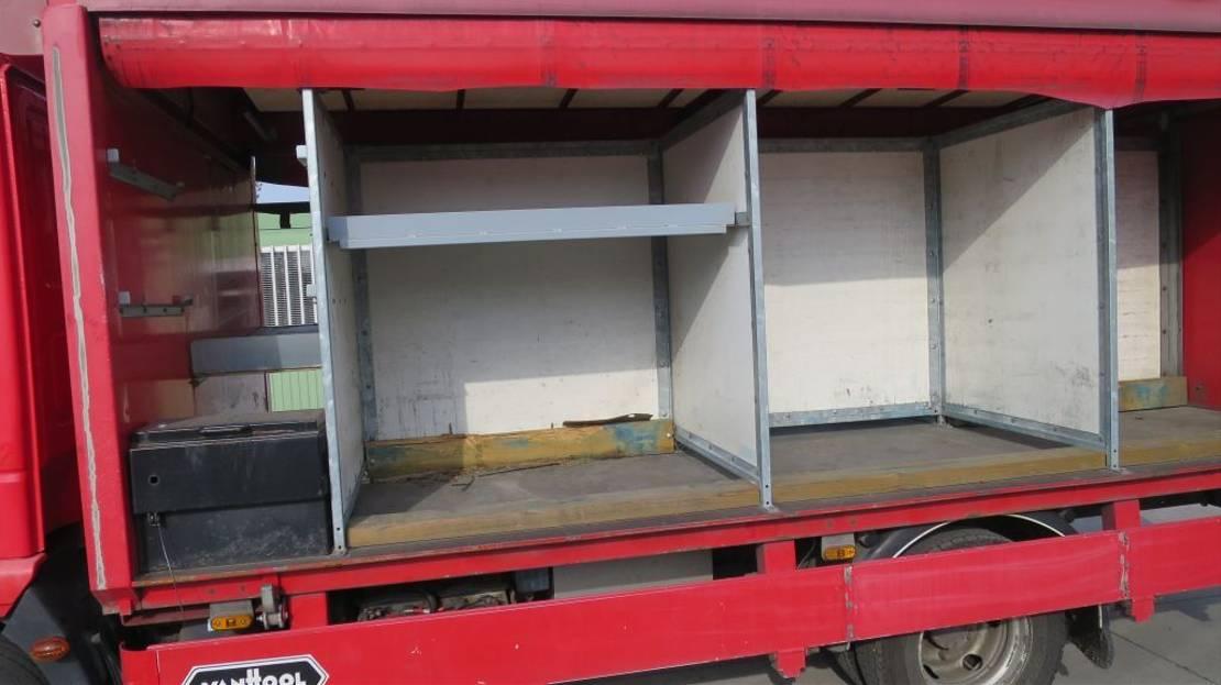 autotransporter vrachtwagen Iveco 90E18 EEV