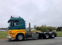 containersysteem vrachtwagen Scania R500 Hook Lift 2005