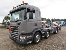 chassis cabine vrachtwagen Scania G450 8x2*6 ADR Chassis Euro 6 2015