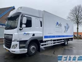 bakwagen vrachtwagen DAF CF 250 FA CF250 SkyCab, gesloten laadbak met klep 2014