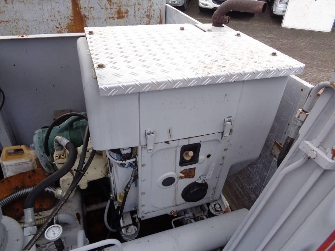 platform vrachtwagen DAF + Euro 5 + Manual + Kennis 16.000 Crane 2013