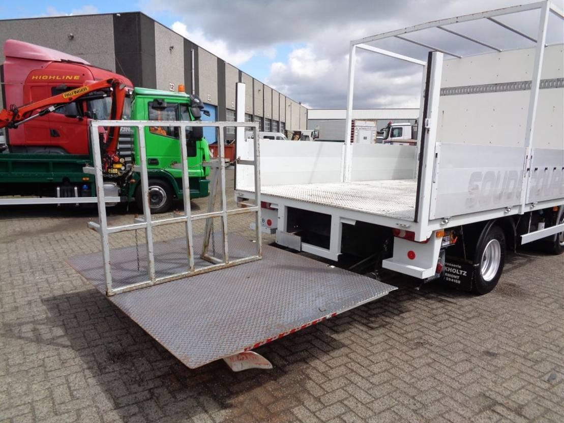 platform vrachtwagen Renault Midlum 190 DXI + Manual + Dhollandia Lift+low kilometers 2007