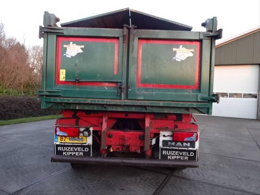 driezijdige kipper vrachtwagen MAN TGS35-400 8X4-4BL 2012