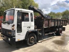 kipper vrachtwagen > 7.5 t Volvo **TIPPER+CRANE-BELGIAN TRUCK** 1987