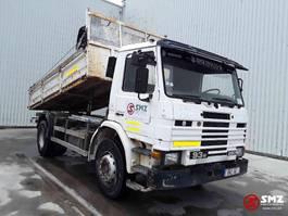kipper vrachtwagen > 7.5 t Scania 93 280 lames/steel francais 1992
