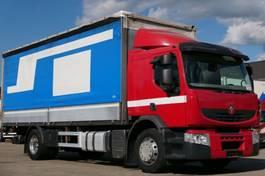 huifzeil vrachtwagen Renault Premium 370 DXi PritschePlane Retarder Edscha E5 2008