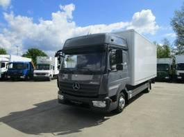 bakwagen vrachtwagen Mercedes-Benz Atego 818 L BIGSPACE Koffer 6,1 m*KLIMA*Standhzg 2016