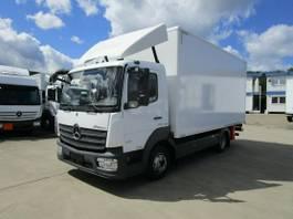 bakwagen vrachtwagen Mercedes-Benz Atego 818 IV L Koffer 5,20 m LBW 1.500 kg 2016