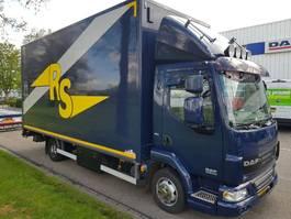 bakwagen vrachtwagen DAF LF 45.08.220  Bakwagen met laadklep 2770 mm HOOG inw. 2009