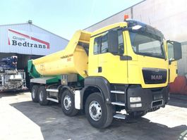 kipper vrachtwagen MAN TGS 41 Dump truck  Bennes Manjot PARABLOC 2013