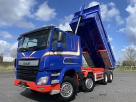 kipper vrachtwagen > 7.5 t DAF CF510  8X4 KIPPER FULL STEEL EURO 6 MULDEN