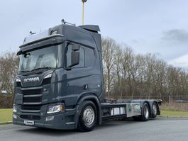 bakwagen vrachtwagen Scania R650-V8 Scania R650 BAKWAGEN 2018