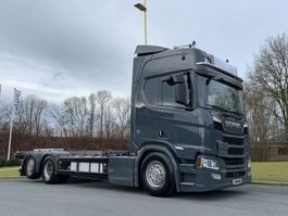 chassis cabine vrachtwagen Scania R650-V8 Scania R650 CHASSIS 2018
