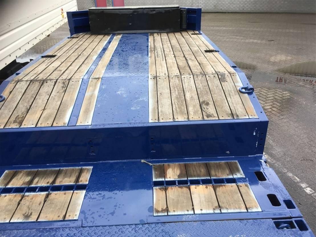 semi dieplader oplegger Nooteboom Open semi Verhuur / only Rental